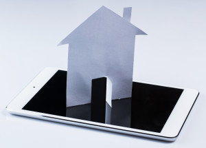 Tablet pc and paper house
